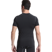Quick Dry Compression Men's Short Sleeve T-Shirts Running Shirt Fitness Tight