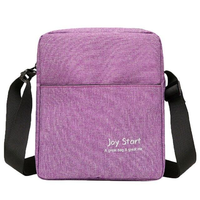 High Quality Men Crossbody Bag Pack Multifunctional Bag Shoulder Messenger Bag Handbag 5