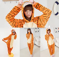 Casa de invierno ropa unisex pijamas animal anime tiger cosplay disfraces
