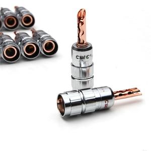 Image 5 - YT 12 個ゴールドメッキレッド銅バナナプラグ端子 CMC なしはんだケーブルオススピーカーコネクタキット