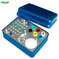 41 Holes Dental Disinfection Sterilization Holder Block Box Case for Endo Files Gutta Perch & Absorbent Paper Points