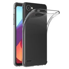 Transparent Case For LG Q6 Case Soft TPU Silicone Gel Clear Back Bag Coque Case Cover For