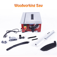 Woodworking Table Saw Multi function Precision Angle Adjusting Miter Saw Cutting Machine Woodworking Electric Saw 900W JF72101