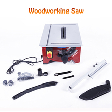 Woodworking Table Saw Multi-function Precision Angle Adjusting Miter Saw Cutting Machine Woodworking Electric Saw 900W JF72101