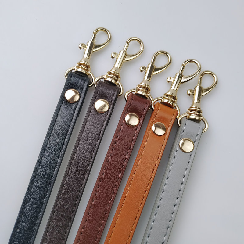 Detachable Handle Replacement Bags Strap Women Girls PU Leather Shoulder Bag Parts Accessories Buckle Belts for DIY accessories in Bag Parts Accessories from Luggage Bags