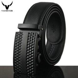 2017 ceintures élégantes hommes de haute qualité en cuir véritable concepteur ceintures pour hommes ceintures automatique en métal boucle ceinture luxe homme Q198