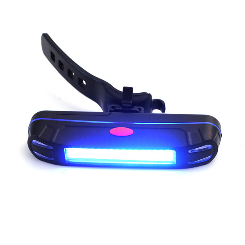 Easy To Operate Bike Tail Light COB Warning Light Mountain Bike Lights Sports Outdoor Riding Equipment Easy To Install