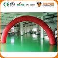 Бесплатная доставка 6*3 м Красный Красивые надувные входная арка Реклама
