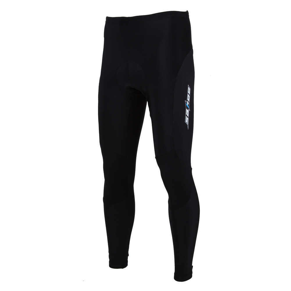 2018 Cycling Tights Winter Warm Pants MTB Bicycle Long Pants Thermal Bike Trousers Windproof Padded Men Riding Sportswear