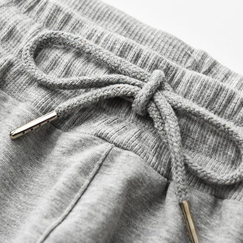 Image 5 - autumn men sweatpants plus size big 6XL 7XL 8XL 9XL winter man sports pants Stretch pants Elastic waist simple Straight Trouser-in Sweatpants from Men's Clothing