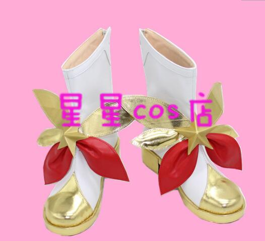 Star Guardian LOL Cosplay chaussures Miss Fortune Cosplay chaussures pour femmes
