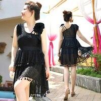 bodysuit women 2018 New design one piece swimsuit with lace solid fitness plus size swimwear women summer beachwear