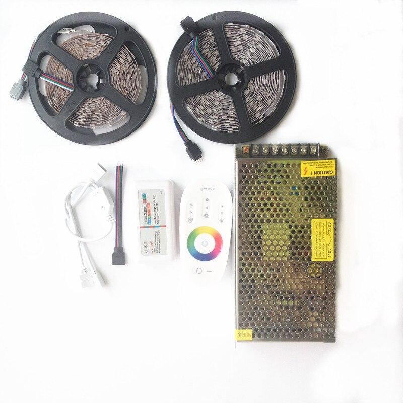20м СИД 5050 RGB Су өткізбейтін таспа 5м 10м - LED Жарықтандыру - фото 4