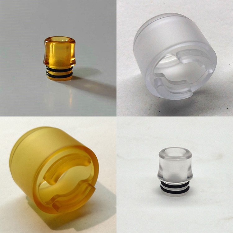 Replace PC PEI Tank Tube Clear Yellow For Coppervape Integra 510 Mtl Drip Tip Replacement Tube Tank
