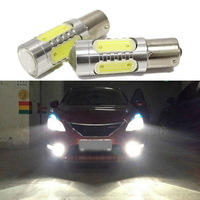 Car Lights 2pcs Super Bright White 7 5W LED SMD1156 Leds Light S25 Backup Reverse Lamp