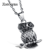 zorcvens-2019-new-fashion-jewelry-gift-men-domineering-personality-titanium-steel-fashion-owl-necklaces-pendants