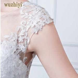 Image 5 - Wuzhiyi ชุดเดรสเมอร์เมดลูกไม้ชุดเดรสชุดเจ้าสาวพลัสขนาด vestidos de noiva จีนงานแต่งงาน 2018