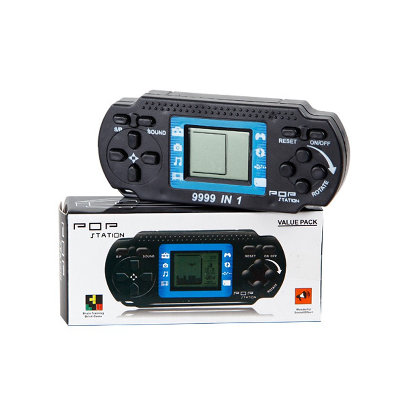 Portable Childrens Classic Game Players Tetris Kids Handheld Video Game Console Hand-held Gaming Device For PSP