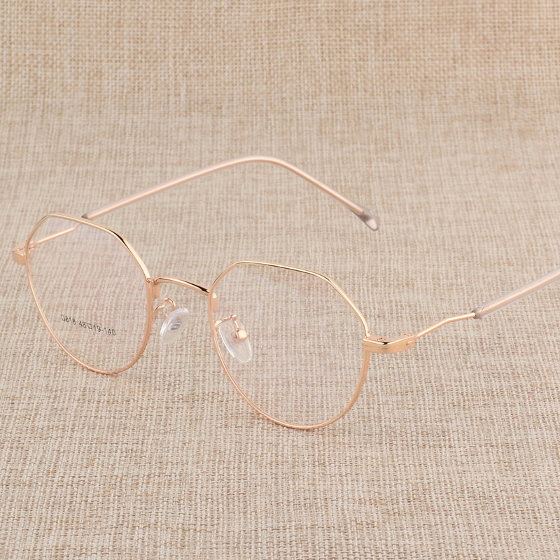 Logorela Prescription Eyeglasses Optical Spectacle Glasses Frame with 6 Optional Colors Free Assembly with Optical Lenses D818 in Women 39 s Eyewear Frames from Apparel Accessories