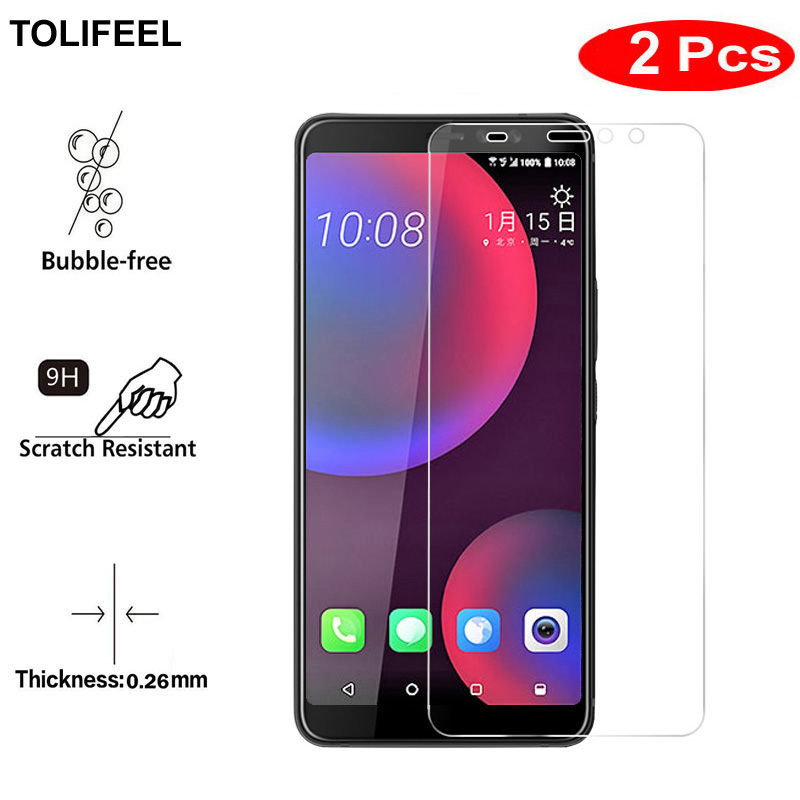 Mobile Phone Accessories Phone Screen Protectors 2pcs Tolifeel Tempered Glass For Htc U11 Eyes Screen Protector 9h 2.5d Toughened Phone Protective Film For Htc U11 Eyes Glass