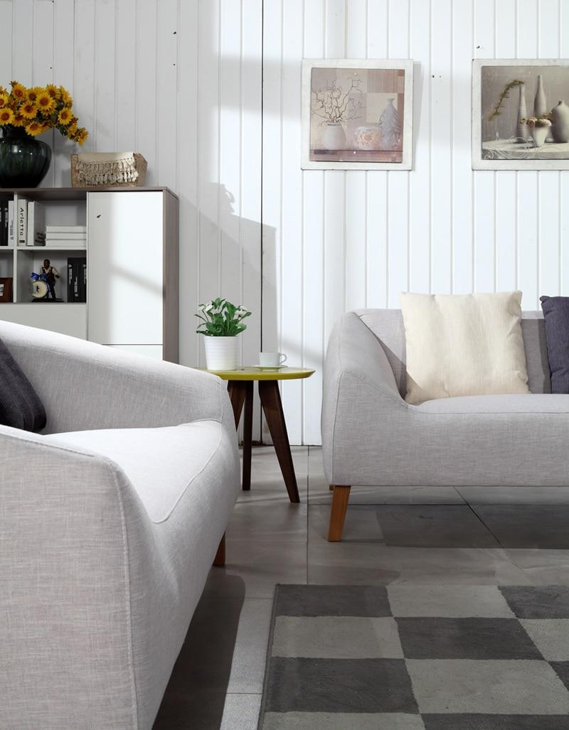 aliexpress : zeitgenössische moderne lagerung leinen sofa grau, Wohnzimmer dekoo
