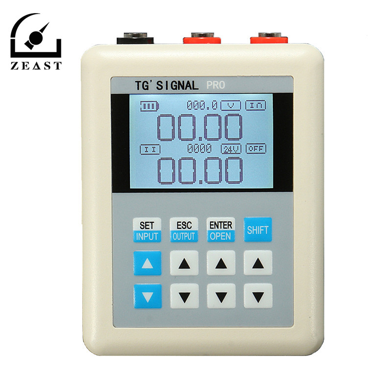 3 PCS 20mA/0-10V Current Signal Generator Source Transmitter PLC Valve Calibration USB Cable For Recharging 4 20ma generator calibration current voltage pt100 thermocouple signal pressure transmitter tft display usb charging recorder