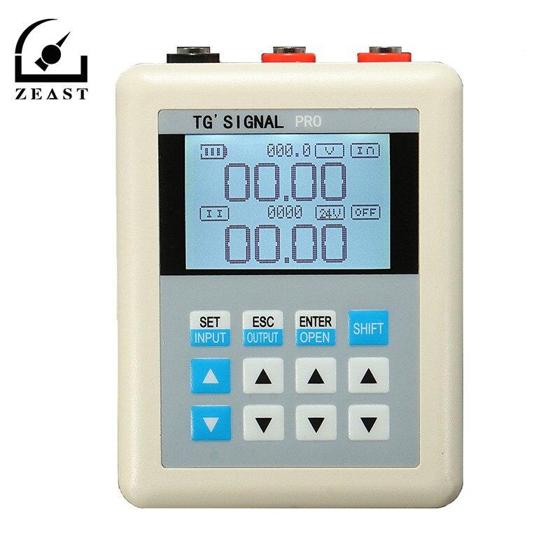 3 pièces 20mA/0-10 V courant générateur de Signal Source émetteur PLC Valve calibrage USB câble pour recharger
