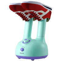 AC220-240V 50-60HZ 160w power foldable shoes dryer shoes baker with 6 files timing function