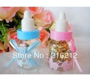 wedding favors Baby feeding bottle wedding candy box