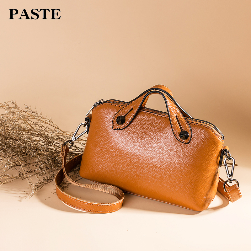 Luxury Brand Genuine Leather Bags Designer Handbags High Quality Single Shoulder Bags Women Messenger Crossbody Bags Tote Bolsos high quality pu leather metal buckle luxury handbags women bags designer small women shoulder over bags bolsos de mano female