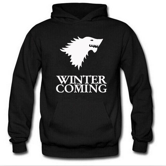 Game of Thrones Stark Wolf Hoodie