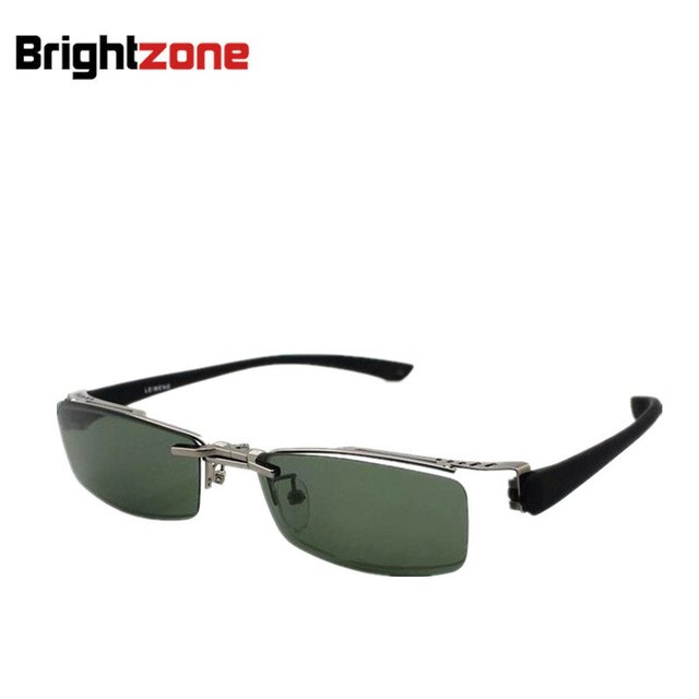 11e74d88b0 NEW ARRIVING FREE SHIPPING glare blocking polarized clip on sunshade  optical frame Rx-able prescription