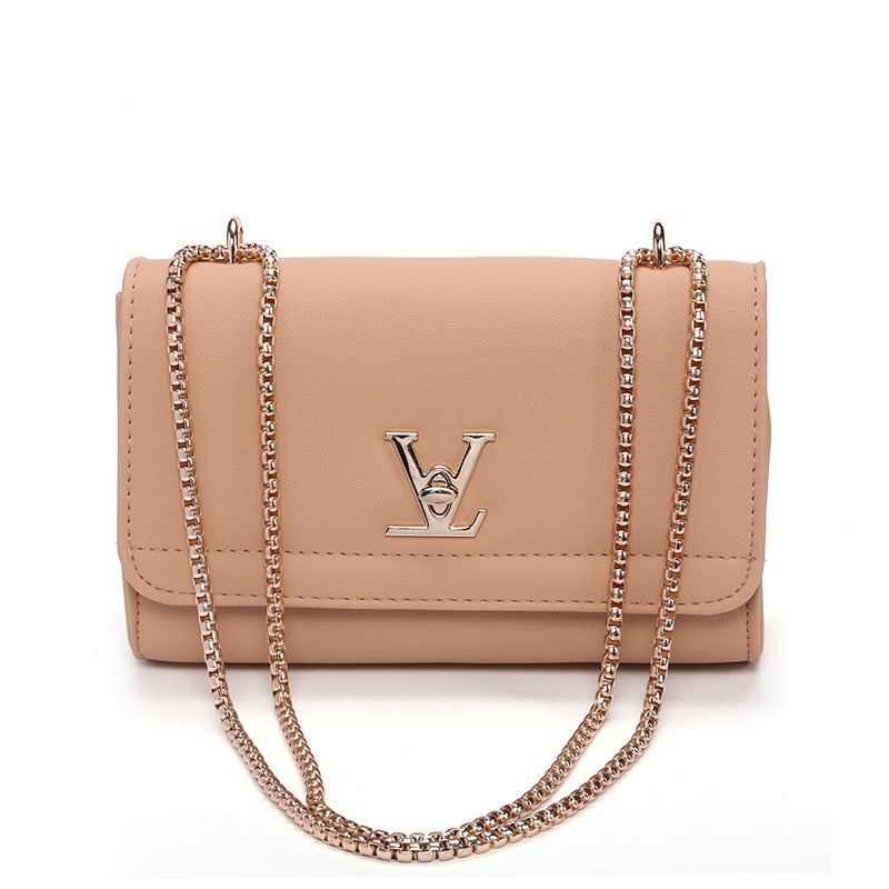 3f49bb6f689 Designer Brand bag Fashion Woman Crossbody Bag Promotional Ladies Tote  luxury Leather Handbag Chain Shoulder Bag