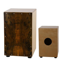 Adult Cajon font b Drum b font Deadwood Plywood Normal Color with foam bag EMS free