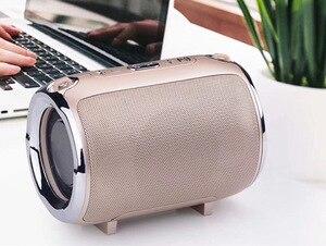 Image 4 - 新しい S518 音楽ミニサブウーファープラグインカードワイヤレス bluetooth スピーカーラジオ機能音楽プレーヤーブームボックスサウンドシステム wi