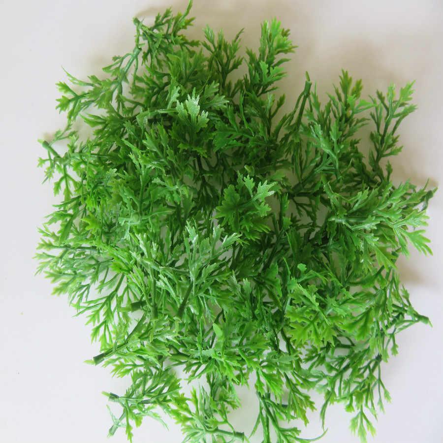 3.5 cm 100 sztuk z tworzywa sztucznego zielone kolory dobrej jakości certyfikat CE Model pociągu układ kolejowego kwiat trawa 1:100 HO skala