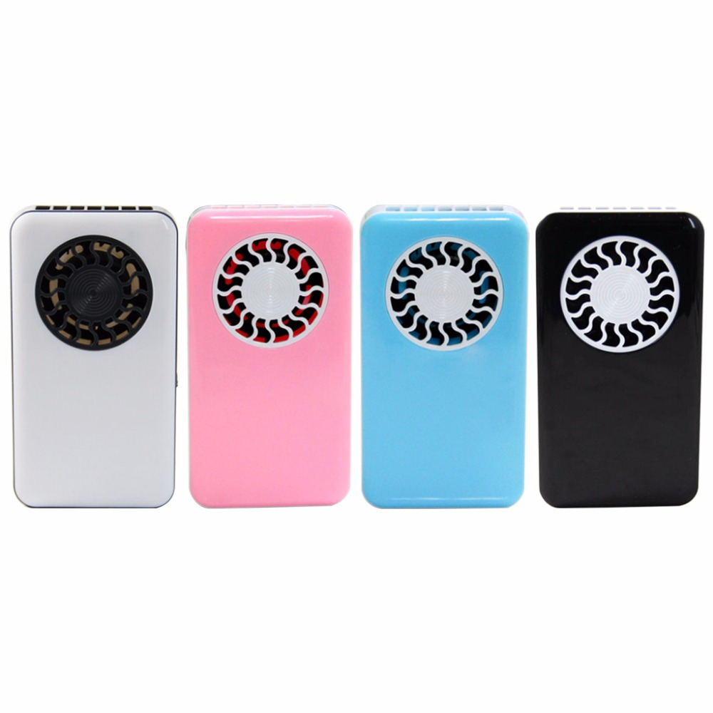 Mini Air Conditioner Fan Portable USB Cooler Cooling Rechargeable Handheld Micro Fan