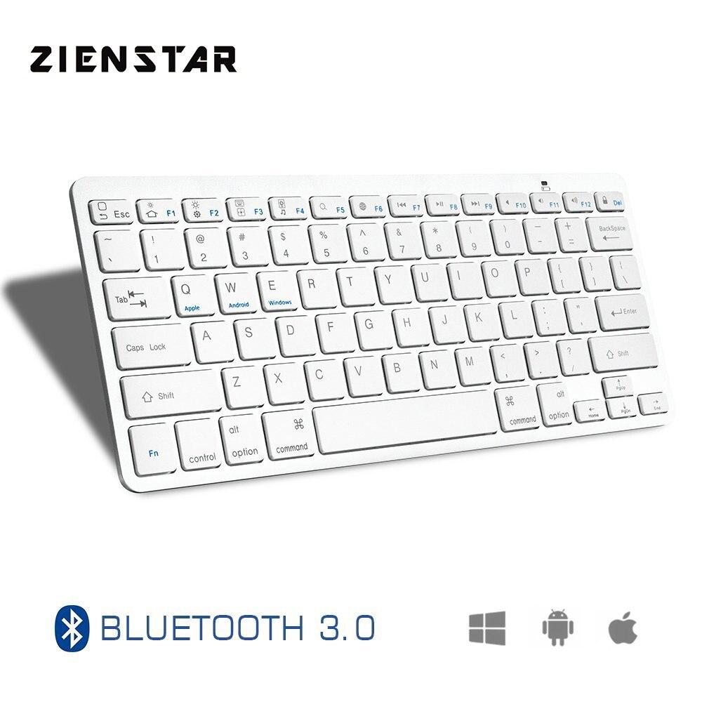 Zienstar Ultra Slim Wireless Bluetooth KEYBOARD for IPAD