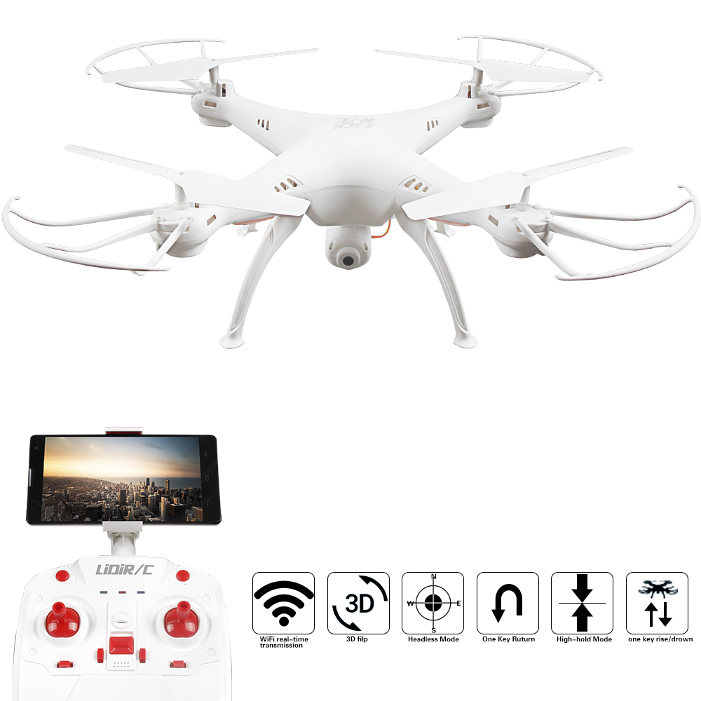 LIDIRC L15HW(Hover Mode Version) 2.4G 4CH 6-Axis WIFI FPV RC Drone Quadcopter Toys With 0.3MP HD Camera