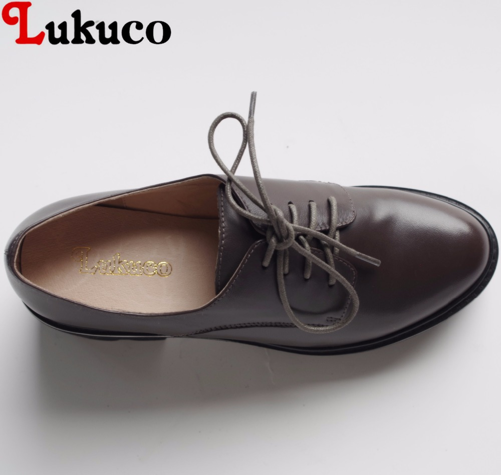 Lukuco sweet style pure color women lace-up pumps microfiber made med heel shoes with platform and pigskin inside lukuco pure color women mid calf boots microfiber made buckle design low hoof heel zip shoes with short plush inside