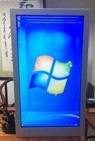 43 zoll werbung transparent lcd touch screen display monitor kiosk Windows oder Android OS-in Auto Parkplatz Ausrüstung aus Sicherheit und Schutz bei