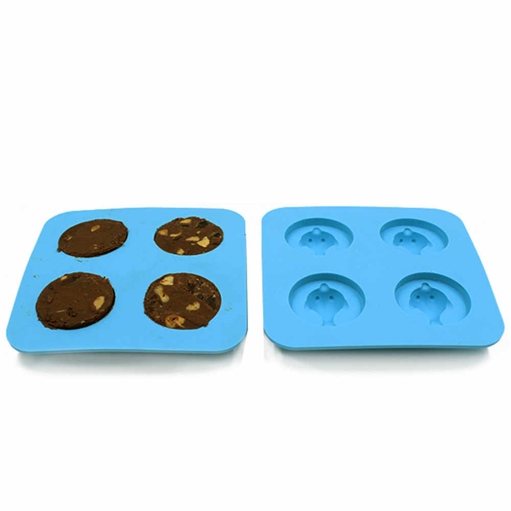 Fish Dolphin Silicone Mold Ice Cube Tray Mold Whiskey Beer Glacon Gadgets Kitchen Accessories Chocolate Mold Cake Cookie Cutter