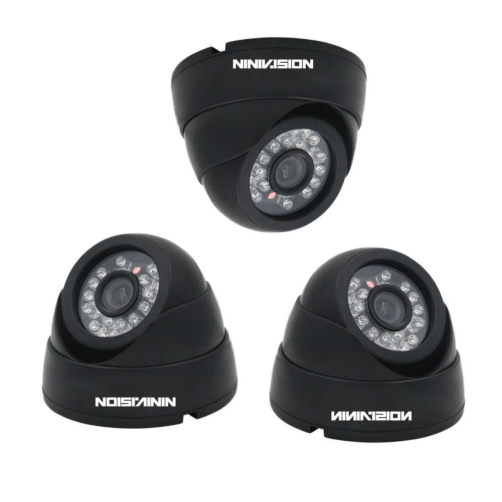 NINIVISION 4CH 1080 p di Rete POE NVR Kit di Sicurezza del CCTV Sistema di 2.0MP IP dell'interno Della Macchina Fotografica di IR di Notte Sistema di Telecamere di Sorveglianza 2 tb HDD