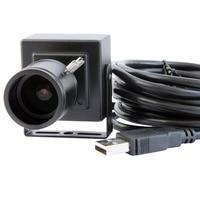 5MP High Definition CMOS OV5640 MJPEG Manual Zoom Varifocal 2 8 12mm Lens Mini USB Camera
