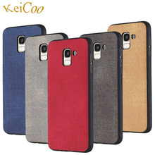 Jeans Texture Soft TPU Cases For Samsung Galaxy J4 J4Prime J4Plus 2018 Case J6 J6Prime J6Plus Ultra-thin Covers