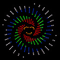 2017 Новый Год подарок!!! танец Света led электронный комплект diy, домашнее Анимации по Audino Совет По Развитию