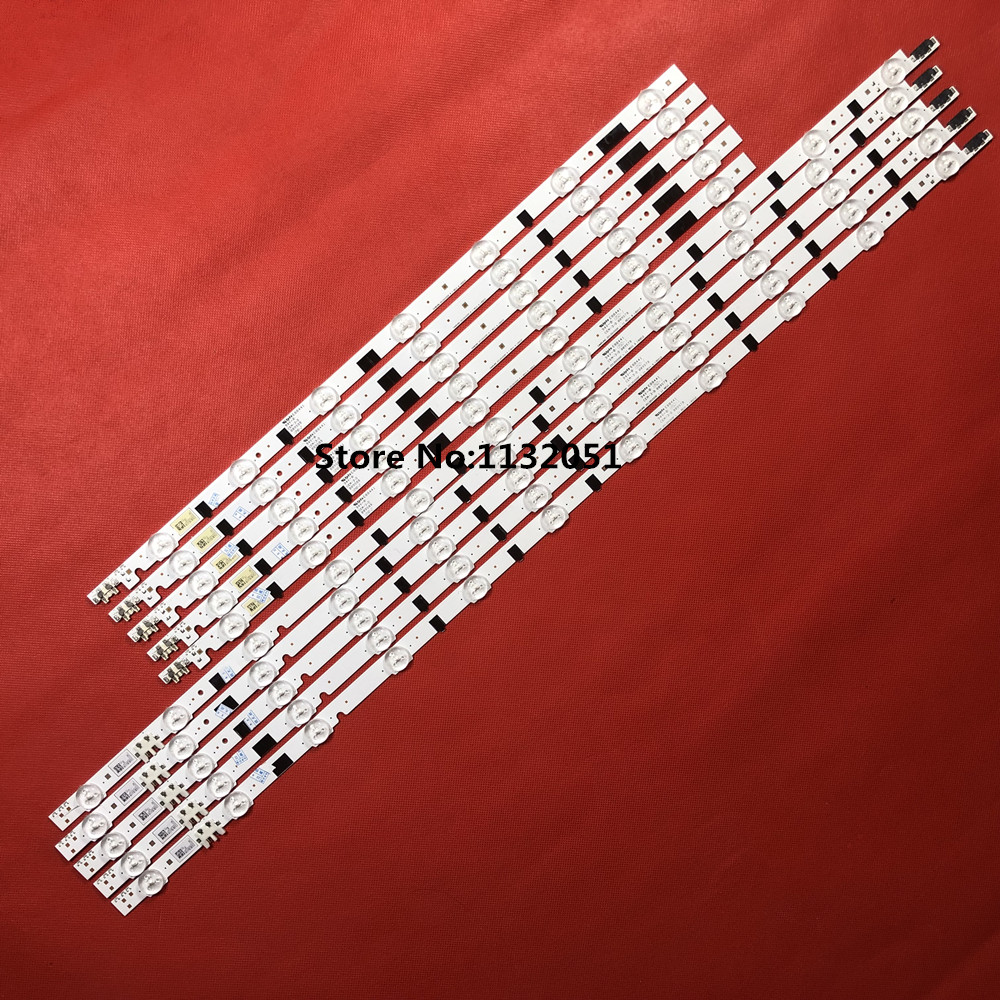 680mm Led Backlight Lamp Strip 100leds For 55 Inch Lcd Led Tv Ua55d6600wj Bn64-01664a Ltj550hw01 Ua55d6000sj Ua55d6400uj 2pcs 100% Original Industrial Computer & Accessories