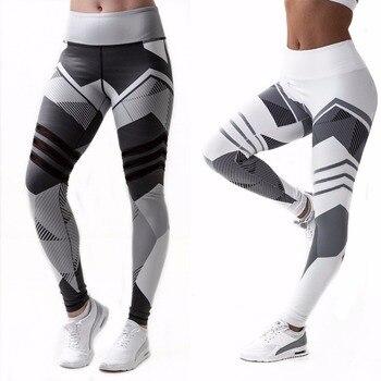 Yoga Pants S-XXXL Plus Size Leggings Sport Women Fitness Legging Slim Stretch Running Tights Women Leggins Ropa Deportiva Mujer 1
