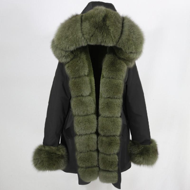 OFTBUY Waterproof Long Parka Winter Jacket Women Real Fur Coat Natural Fox Fur Collar Hood Thick Warm Streetwear Detachable New 57