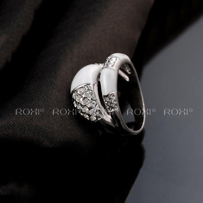 53fd3825f9ef ... Cristal de Oro Rosa Anillo de Amor para Las Mujeres. Previous. Next